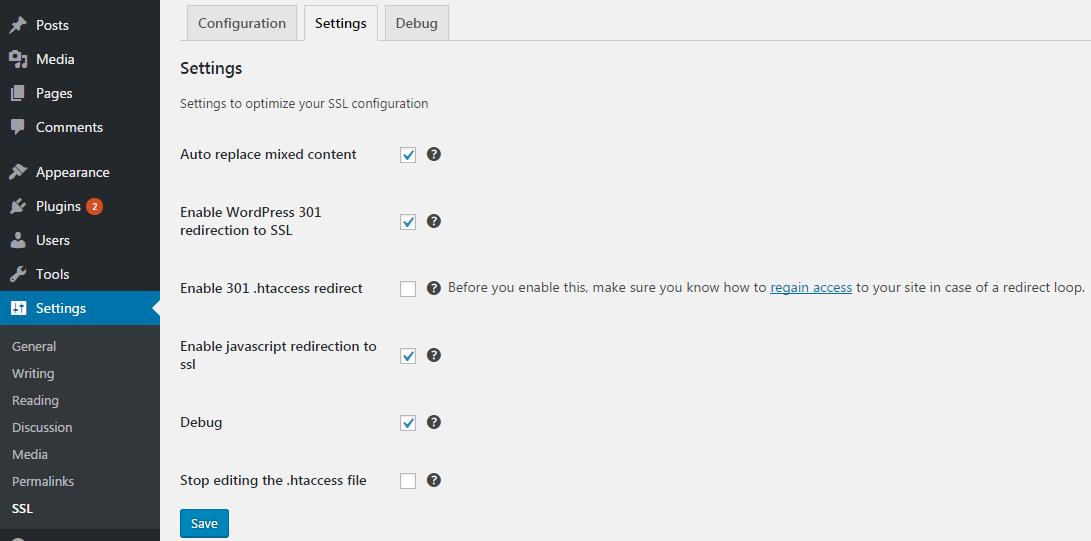 Configuraciones SSL realmente simples