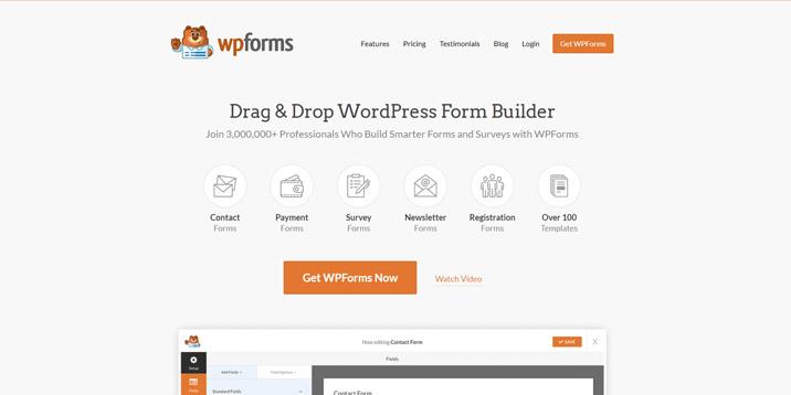Formularios de WP