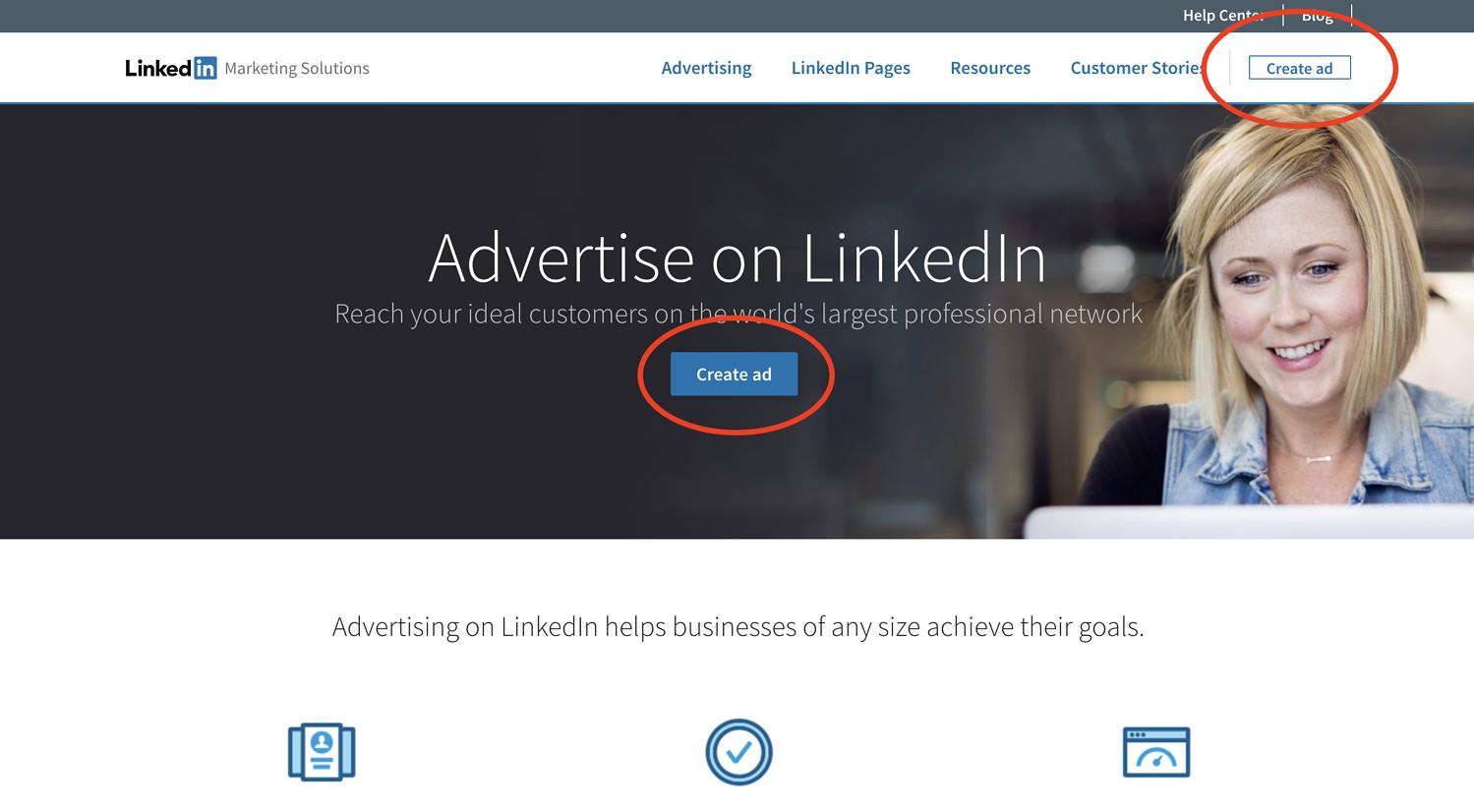 configurer votre campagne linkedin
