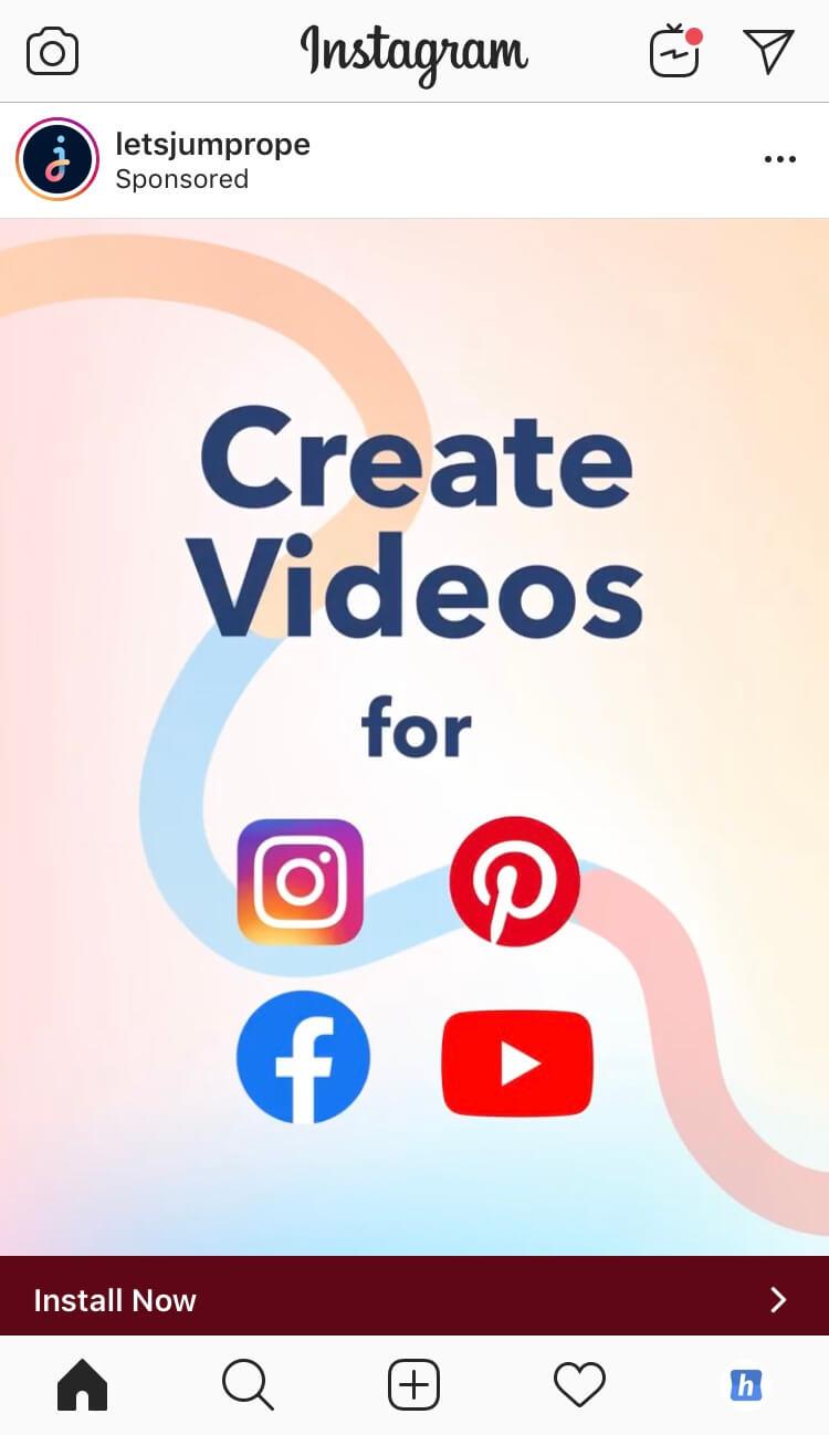 Instagram-Anzeigen