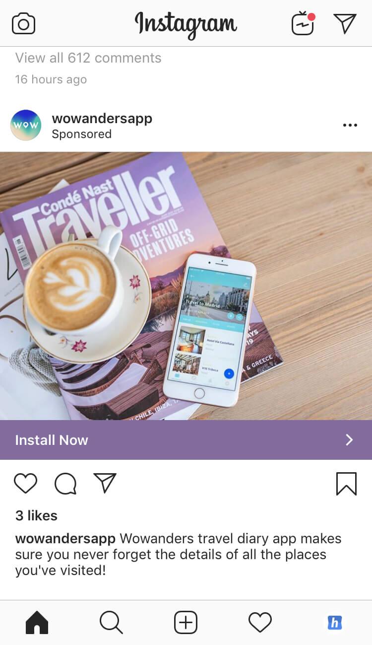 anuncios de instagram