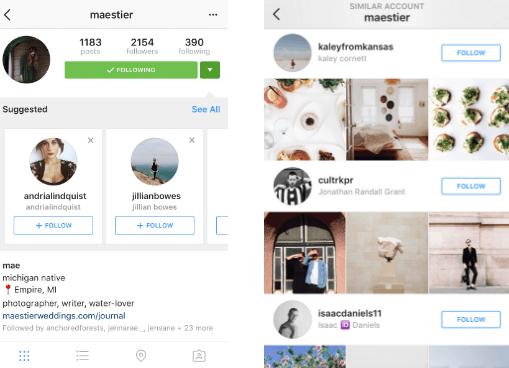 investigación de mercado objetivo en instagram