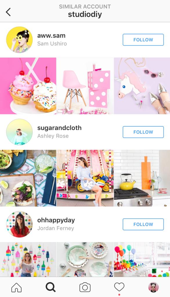instagram influenciadores sugeridos