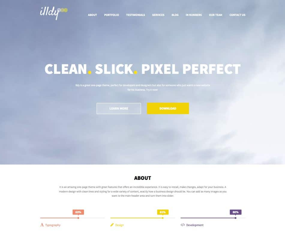 """illdy-free-business-wordpress-theme """"width ="""" 950 """"height ="""" 806 """"srcset ="""" https://themegrill.com/blog/wp-content/uploads/2016/05/illdy-free-business-wordpress -theme.jpg 950w, https://themegrill.com/blog/wp-content/uploads/2016/05/illdy-free-business-wordpress-theme-300x255.jpg 300w, https://themegrill.com/blog /wp-content/uploads/2016/05/illdy-free-business-wordpress-theme-768x652.jpg 768w """"tamaños ="""" (ancho máximo: 950px) 100vw, 950px """"></p> <div class="""