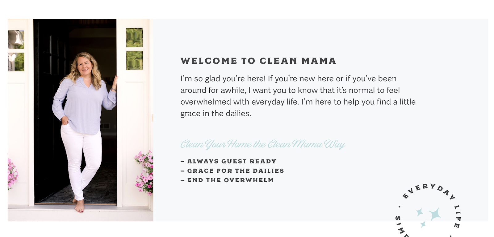 Clean Mama sobre el autor Screenshot