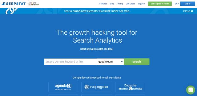 Alternativas de Serpstat Google Analytics