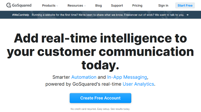 Alternativas de GoSquared Google Analytics