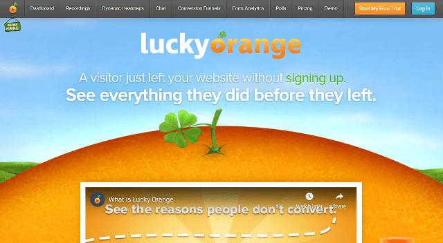 Alternativas de Lucky Orange a Google Analytics