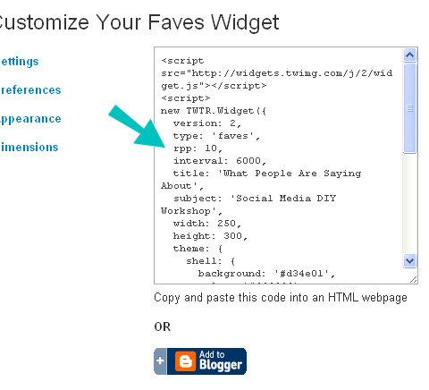 widget kod kutusu