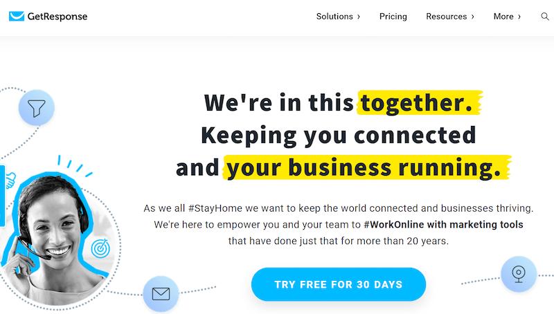 Complemento de WordPress GetResponse