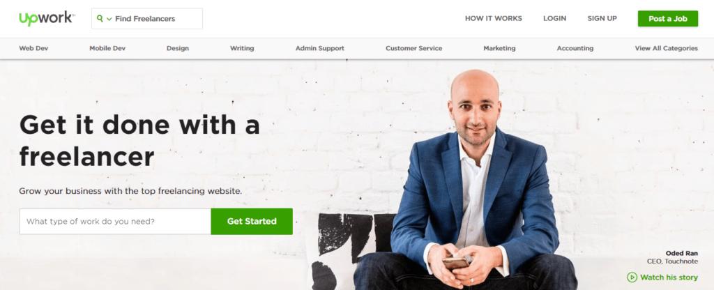 Mejor trabajo independiente de sitios web de trabajo