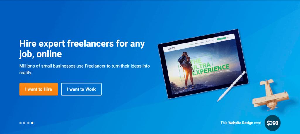 Los mejores sitios web independientes de trabajo Freelancer