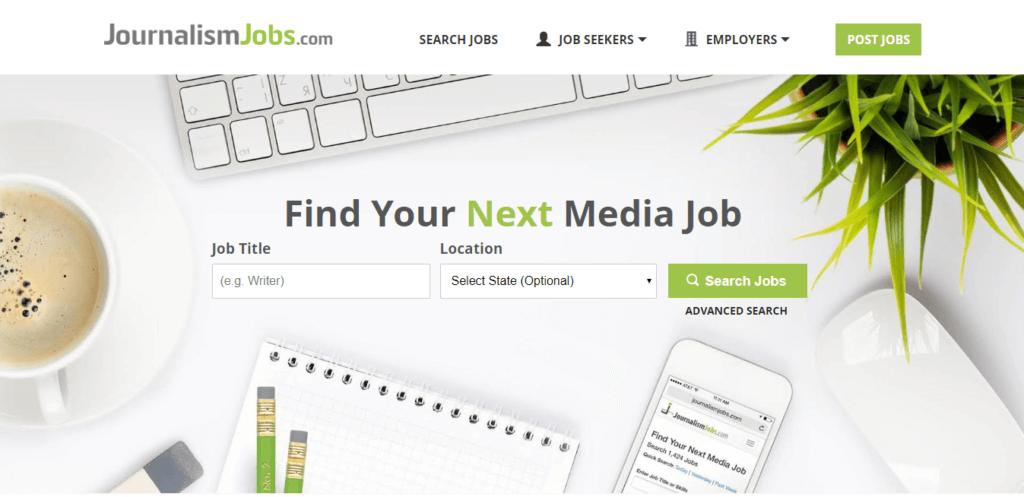 Los mejores sitios web de trabajo independiente Periodismo Empleos