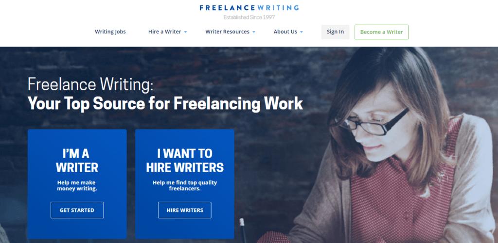 Los mejores sitios web de trabajo independiente Escritura independiente
