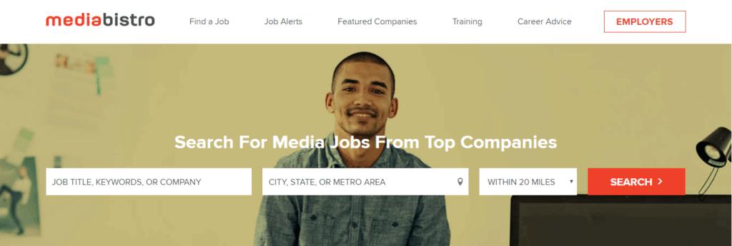 Los mejores sitios web de trabajo independientes Media Bistro
