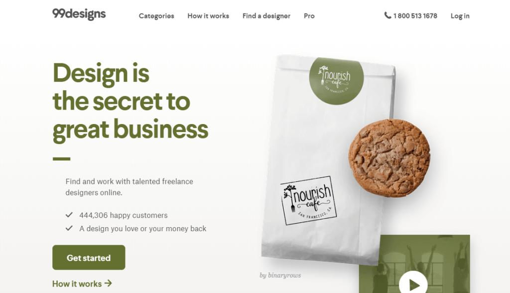 Los mejores sitios web de trabajos independientes 99 diseños
