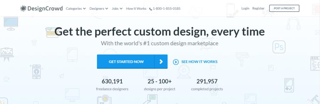 Mejor Multitud de Diseño de Sitios Web de Trabajo Independientes