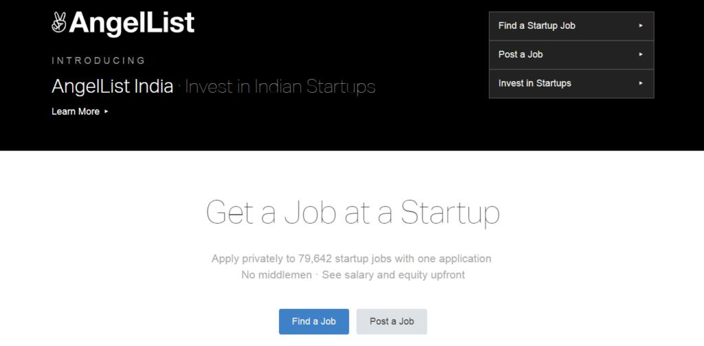 Lista de ángeles de los mejores sitios web de trabajo independientes