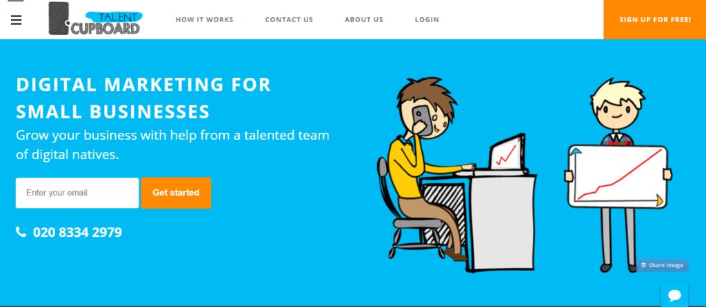 Mejor sitio web independiente de trabajo Talento Armario