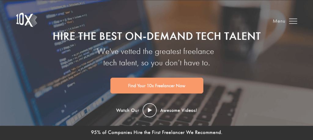 Mejores sitios web independientes de trabajo 10x Management