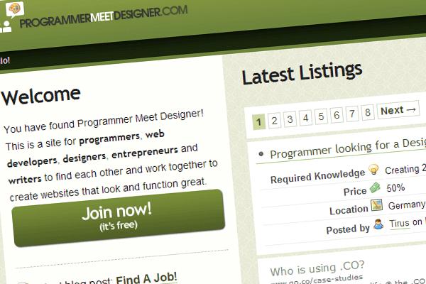 El mejor programador freelance de sitios web de trabajo Meet Designer