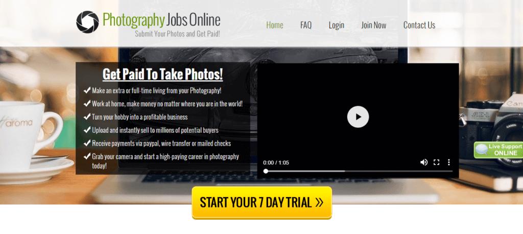 Los mejores sitios web independientes de trabajos de fotografía Trabajos en línea