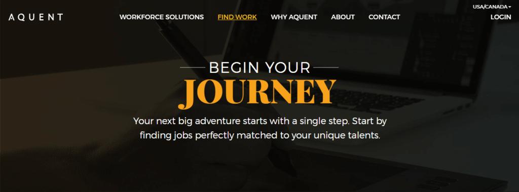 Mejores sitios web de trabajo independientes Aquent