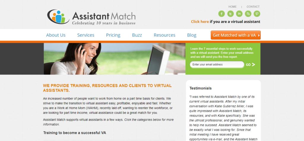 Mejor asistente de trabajo independiente para sitios web