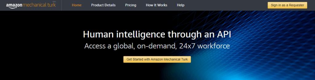 Mejores sitios web de trabajo independientes Amazon Mechanical Turk