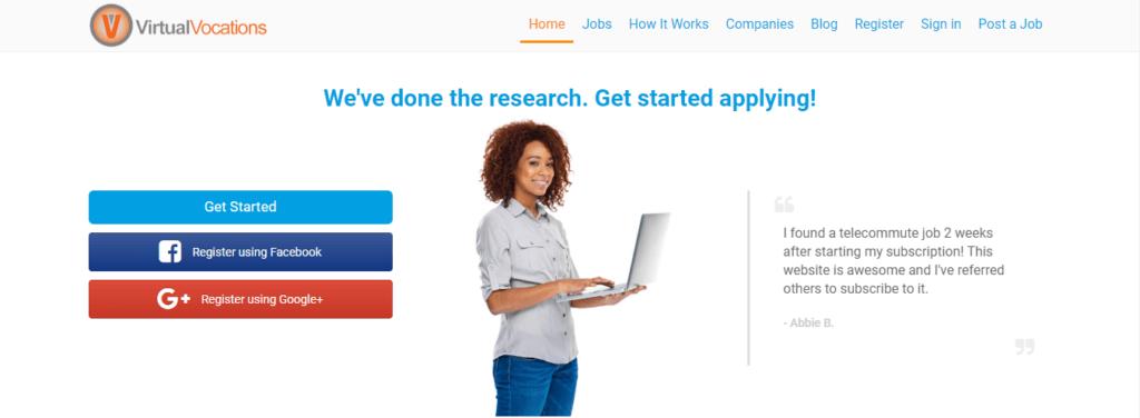 Best Freelance Job Websites Virtual Vocations