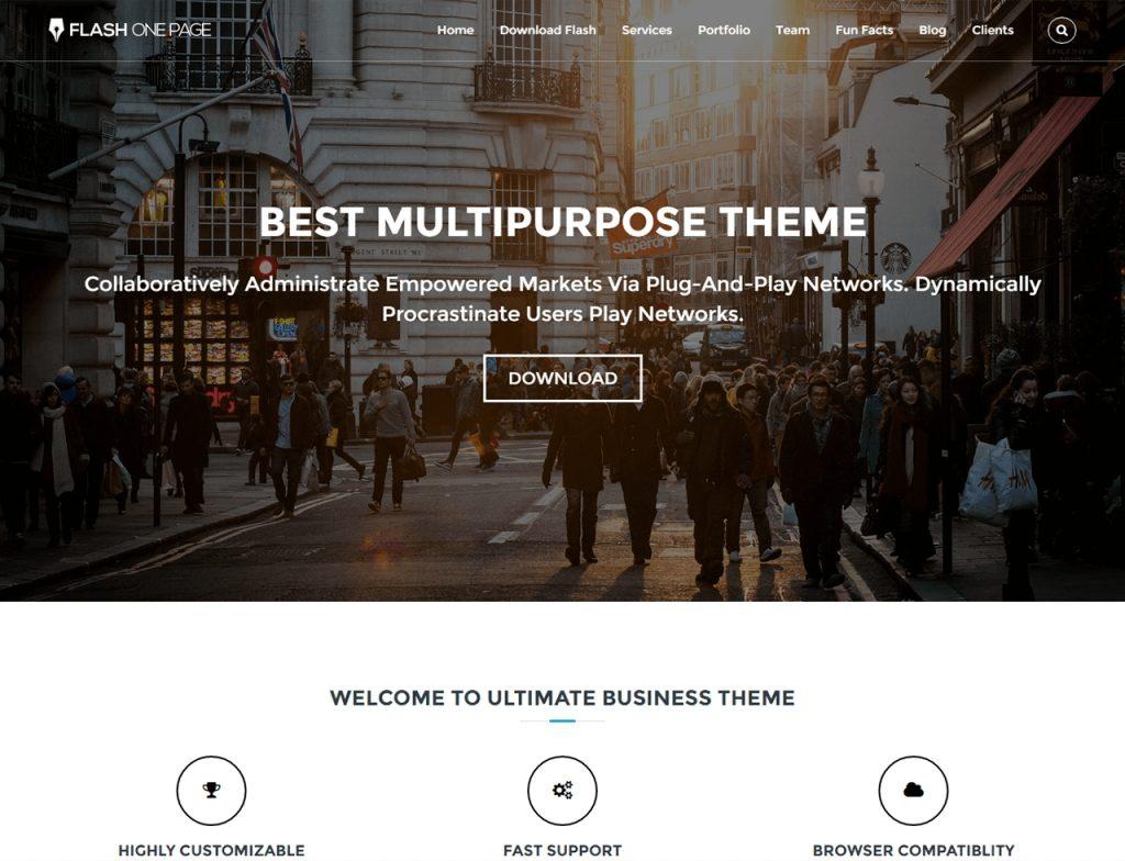 flash-one-page-parallax-wordpress-theme