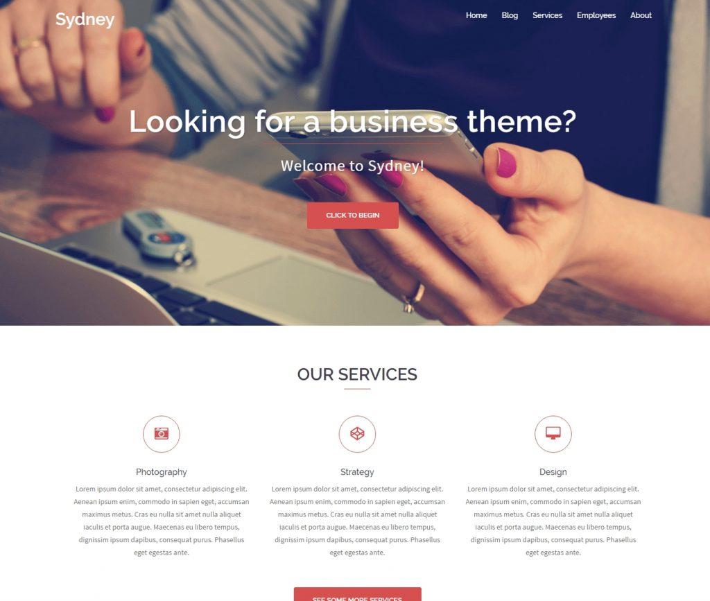 sydney-best-free-responsive-wordpress-theme