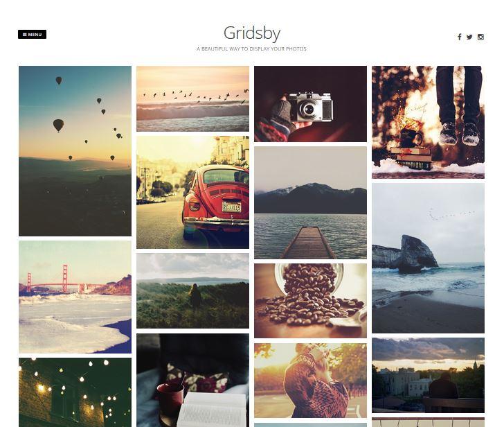 temas de wordpress receptivos gratuitos gridsby