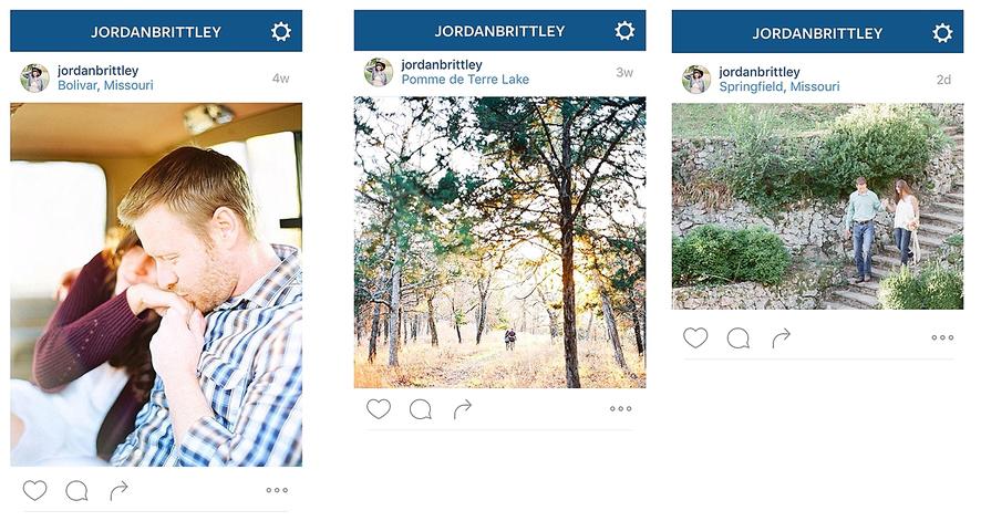tipos de tamaño de imagen de instagram