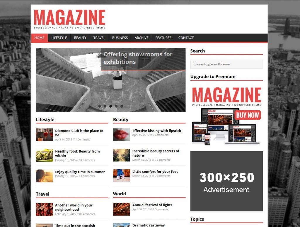 revista gratuita tema de wordpress revista mh lite