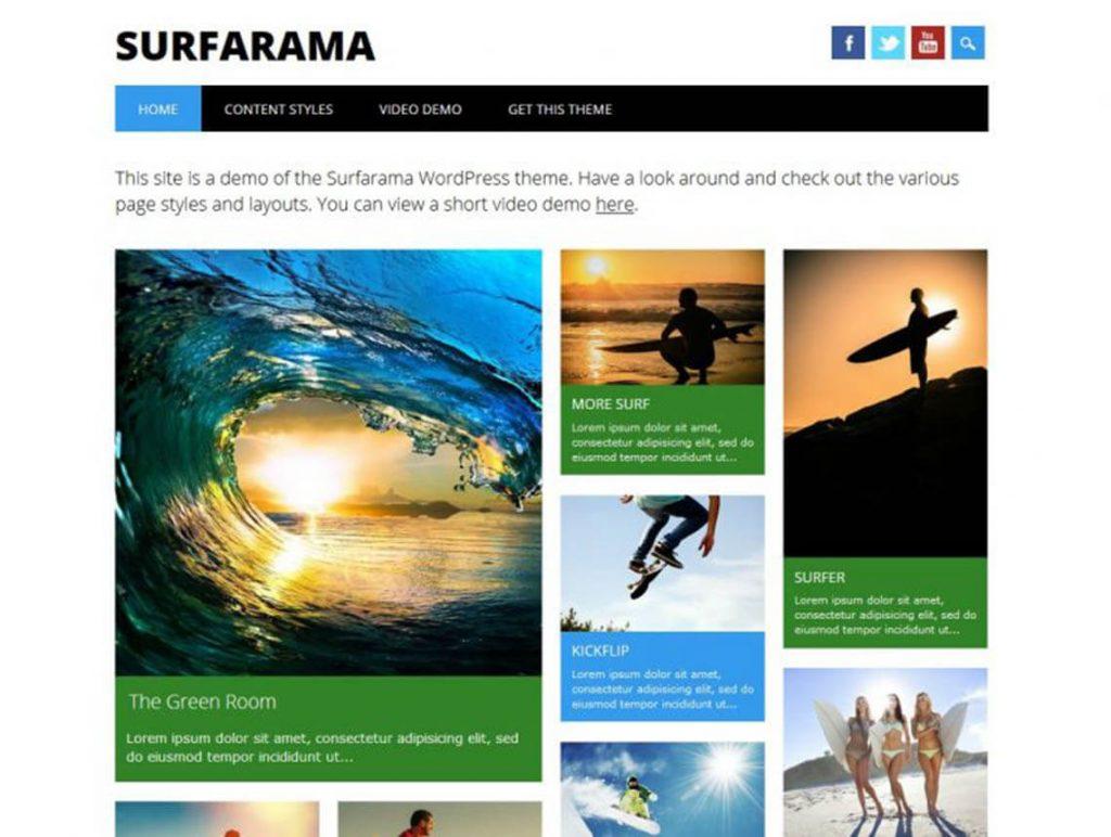 "surfarama-free-magazine-wordpress-theme"" width=""720"" height=""543"" srcset=""https://blogging-techies.com/wp-content/uploads/2020/05/1589068157_748_Mas-de-25-Mejores-Temas-de-WordPress-para-Revista-Responsive.jpg 1024w, https://themegrill.com/blog/wp-content/uploads/2015/07/surfarama-free-magazine-wordpress-theme-300x226.jpg 300w, https://themegrill.com/blog/wp-content/uploads/2015/07/surfarama-free-magazine-wordpress-theme-768x579.jpg 768w, https://themegrill.com/blog/wp-content/uploads/2015/07/surfarama-free-magazine-wordpress-theme.jpg 1140w"" sizes=""(max-width: 720px) 100vw, 720px""> </div> </div> <div class="