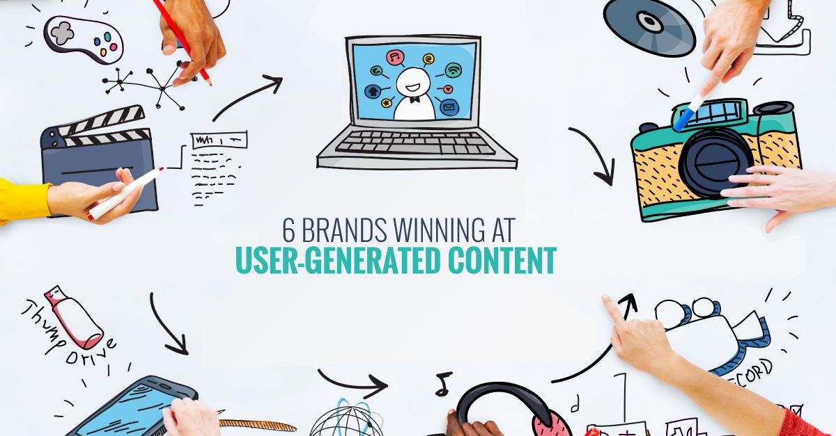 6 osvajanja brandova u korisničkom sadržaju