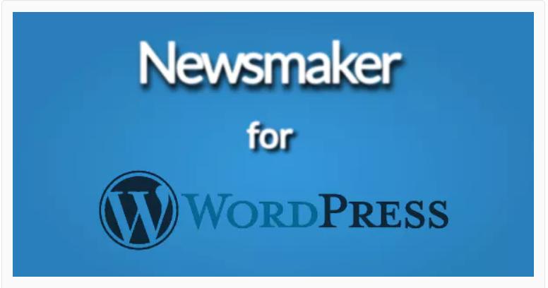 Newsmaker para WrdPress, complementos generados por el usuario