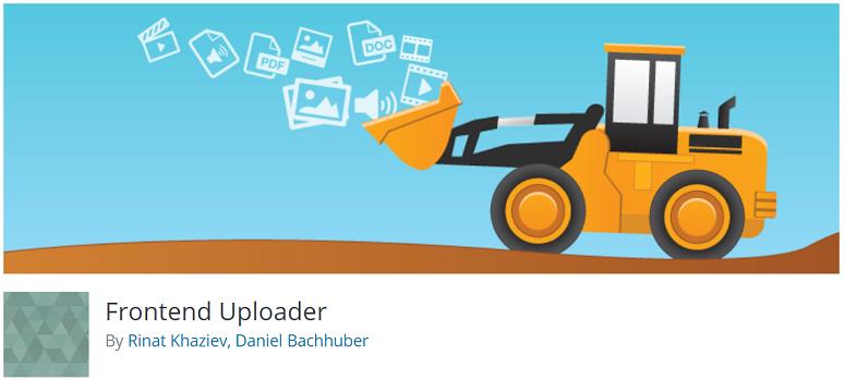 Frontend Uploader, complemento de contenido generado por el usuario