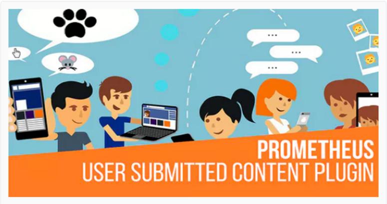Prometeo, contenido generado por el usuario