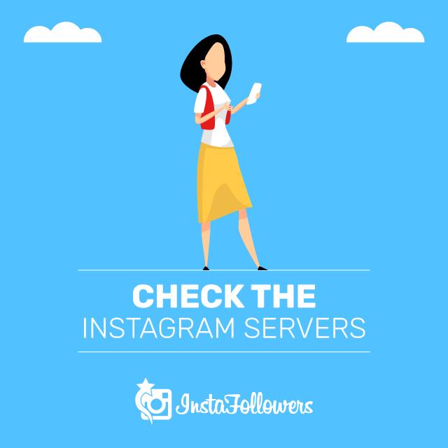 Revisa los servidores de Instagram