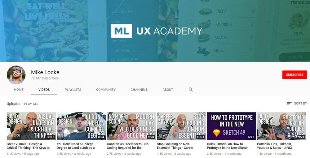 Mike Locke YouTube