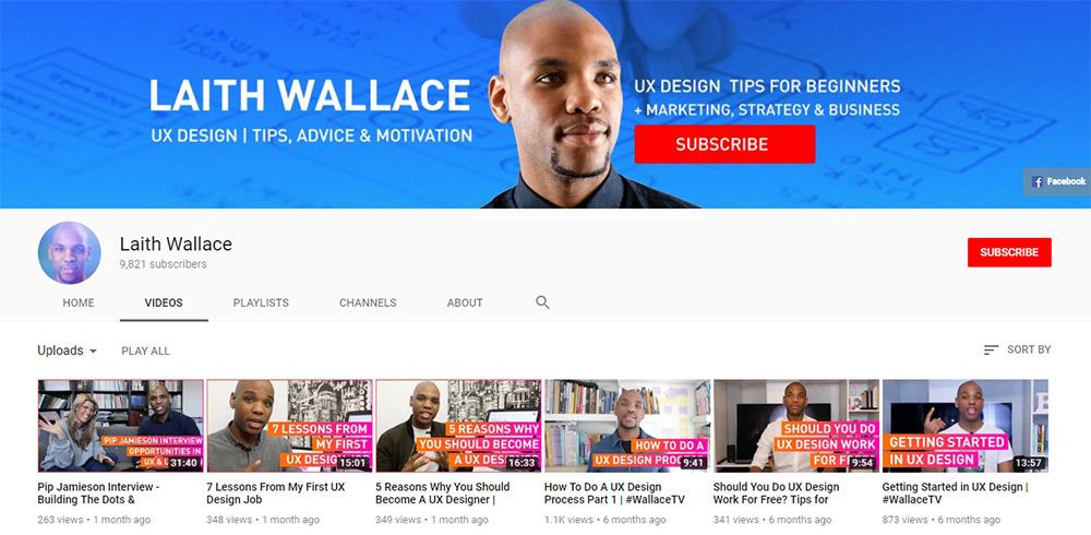 Laith Wallace YouTube