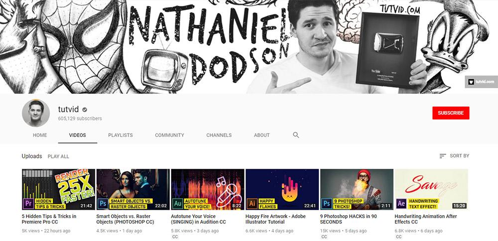 Canal TuTVid YouTube