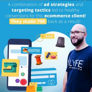 Estudio de caso de comercio electrónico de publicidad digital