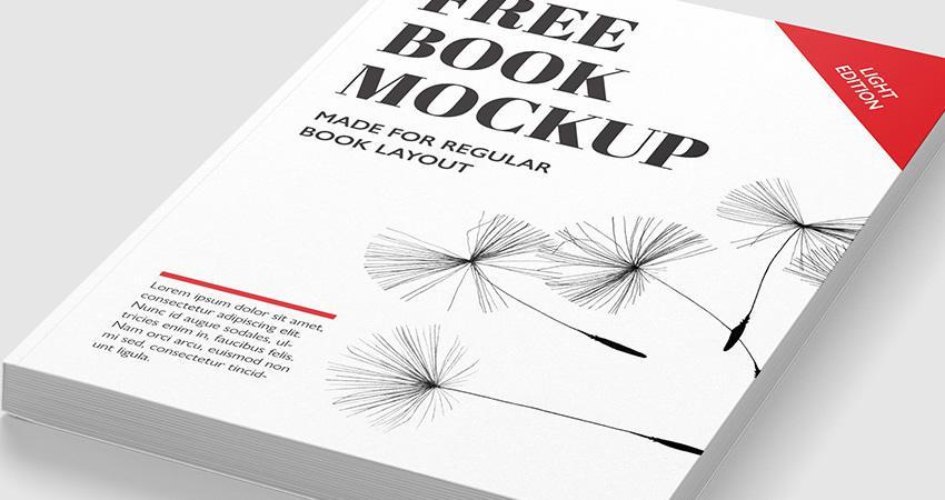 Plantillas de maquetas de libros gratuitas Photoshop PSD