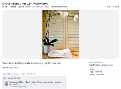 encantamiento en facebook