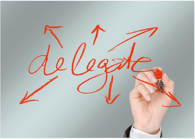 Técnicas de productividad para bloggers- Delegado