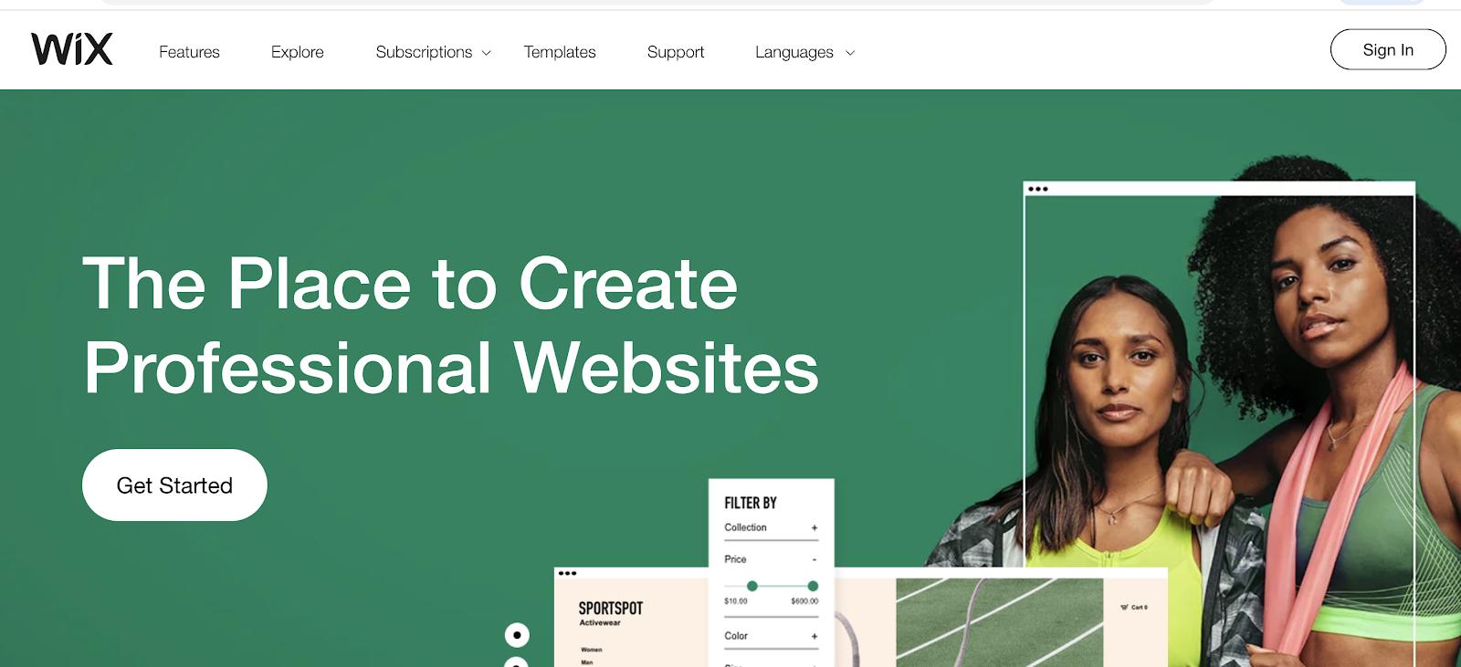 Wix como un sitio de blogs gratuito para comenzar con un presupuesto ajustado