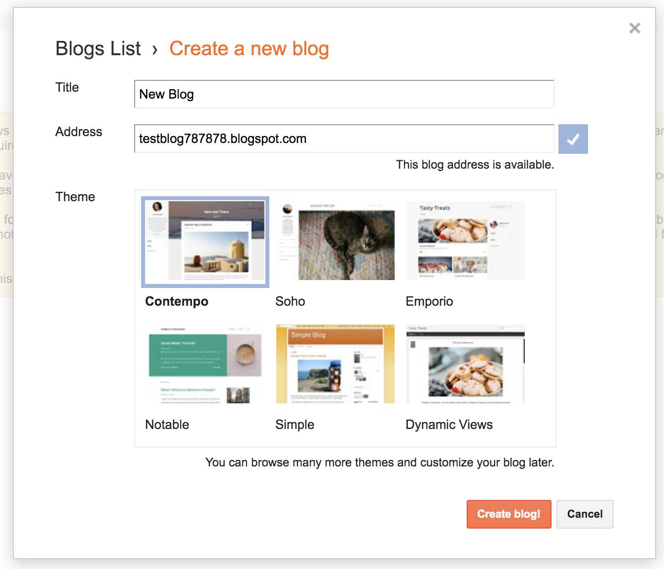 How to Create a Free Blog on Blogger (Screenshot Tutorial)